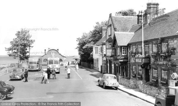 Photo of Yarmouth, The Bugle Hotel c.1955