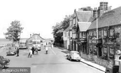 Yarmouth, The Bugle Hotel c.1955