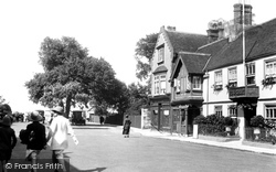 Yarmouth, The Bugle Inn 1923
