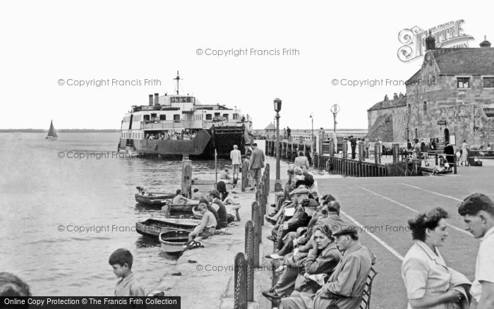 Photo of Yarmouth, The Ferry c.1955