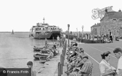 Yarmouth, The Ferry c.1955
