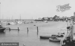 Yarmouth, The Harbour c.1955