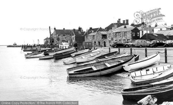 Photo of Yarmouth, The Quay c.1955