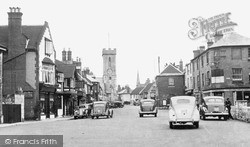 Yarmouth, The Square c.1955
