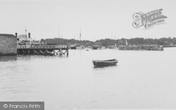 Yarmouth, The View From The Pier c.1955
