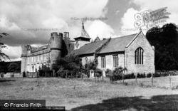 Croft Castle And Church c.1960, Yarpole