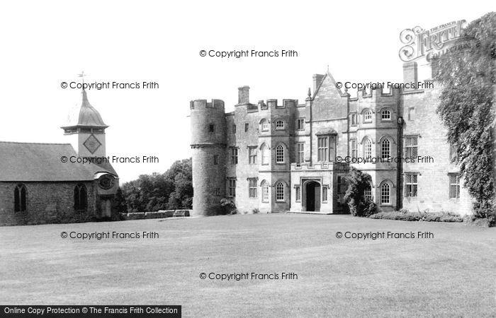 Photo of Yarpole, Croft Castle And St Michael's Church c.1960