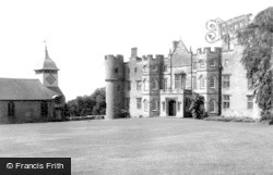 Yarpole, Croft Castle And St Michael's Church c.1960