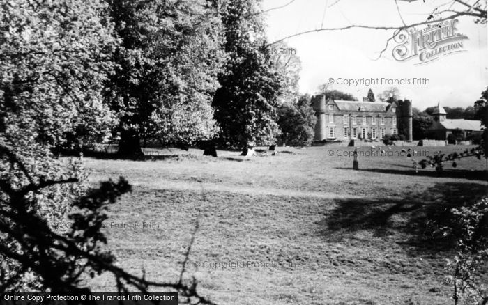 Photo of Yarpole, Croft Castle And St Michael's Church From The South c.1960
