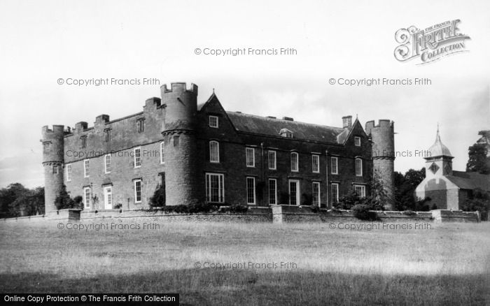 Photo of Yarpole, Croft Castle From South West And St Michael's Church c.1960