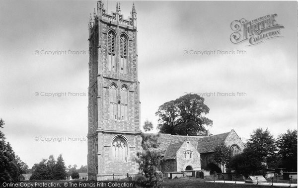 Photo of Yate, St Mary's Church 1903