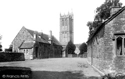 Yate, St Mary's Church And Schools 1903