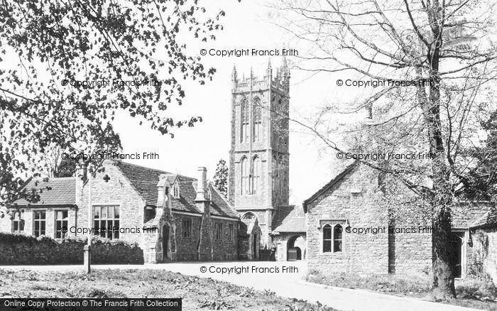 Photo of Yate, St Mary's Church c.1955