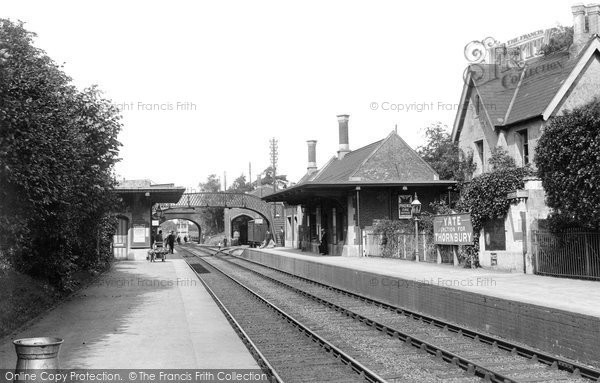 Photo of Yate, The Station 1903