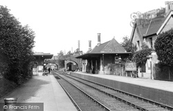 Yate, The Station 1903