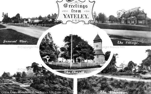 Photo of Yateley, Composite c.1950