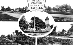 Yateley, Composite c.1950