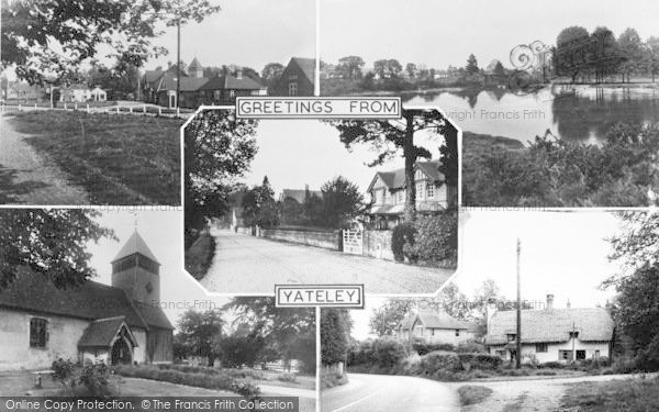 Photo of Yateley, Composite c.1960