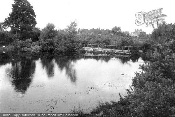 Photo of Yateley, Cricket Hill 1910