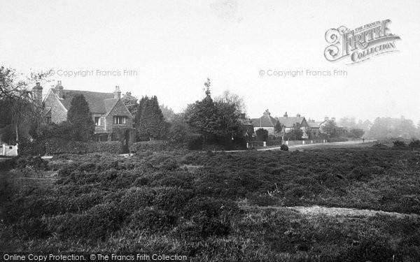 Photo of Yateley, Cricket Hill 1919