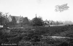 Yateley, Cricket Hill 1919