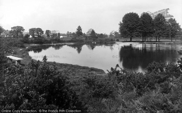 Photo of Yateley, Pond 1939