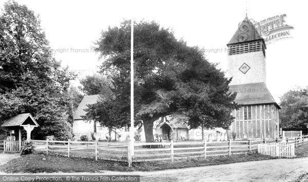 Photo of Yateley, St Peter's Church 1906