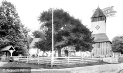 Yateley, St Peter's Church 1906