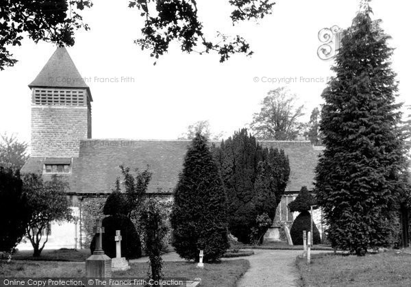 Photo of Yateley, St Peter's Church c.1950