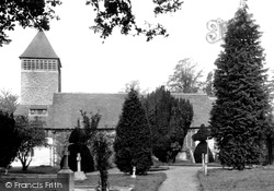 Yateley, St Peter's Church c.1950