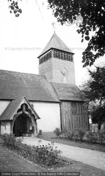 Photo of Yateley, St Peter's Church c.1960