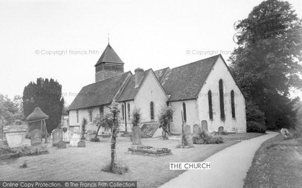 Photo of Yateley, St Peter's Church c.1965