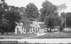 Yateley, Supply Stores And Lychgate 1924