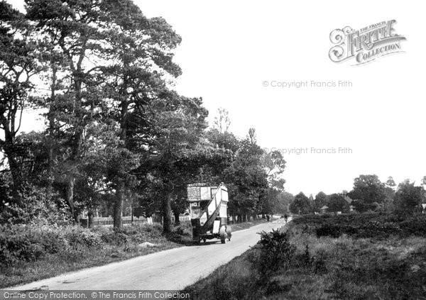 Photo of Yateley, The Common 1924