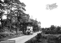 Yateley, The Common 1924