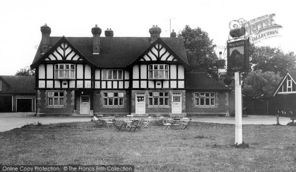 Photo of Yateley, The Dog And Partridge c.1960