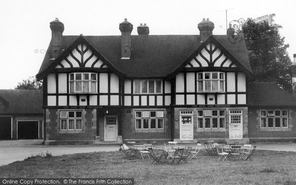 Photo of Yateley, the Dog and Partridge c1965