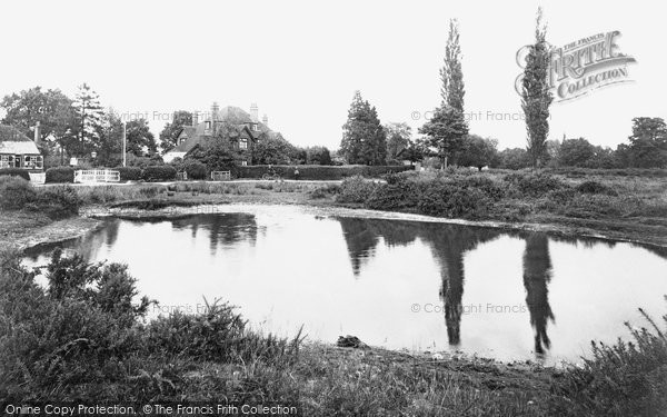 Photo of Yateley, The Green 1910