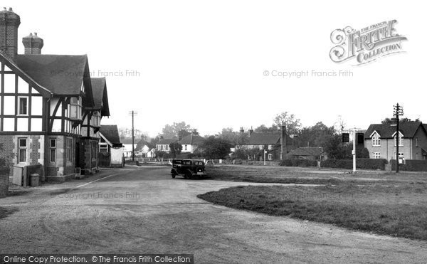 Photo of Yateley, The Green c.1950