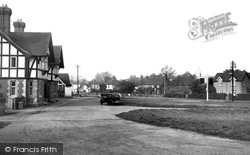 Yateley, The Green c.1950