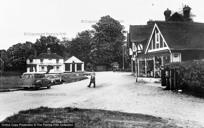 Photo of Yateley, The Green c.1960