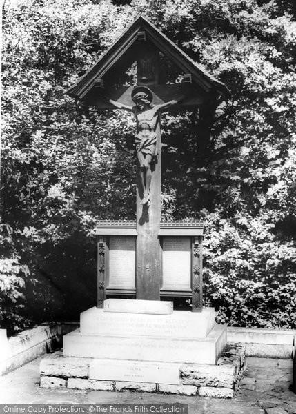 Photo of Yateley, The Memorial c.1965