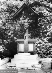 Yateley, The Memorial c.1965