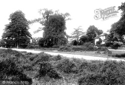 Yateley, The Vicarage 1910