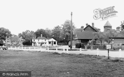 Yateley, The Village c.1955