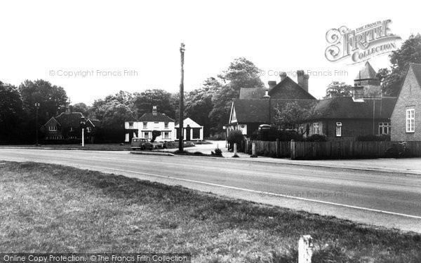 Photo of Yateley, The Village c.1960