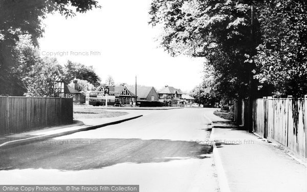 Photo of Yateley, The Village c.1965