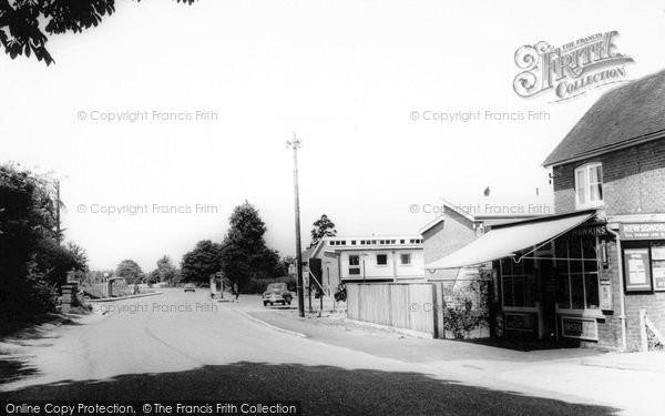 Photo of Yateley, The Village c.1965