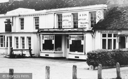 Yateley, The White Lion And Cooper & Son Grocers c.1960