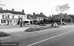 Yateley, The White Lion And Village c.1960